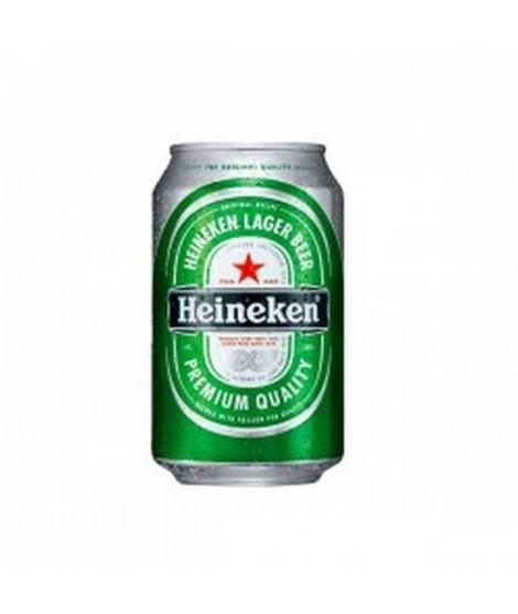 Lata cerveza Heineken 33 cl