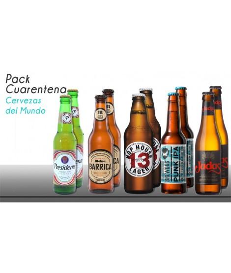 Cuarentena Pack cervezas...