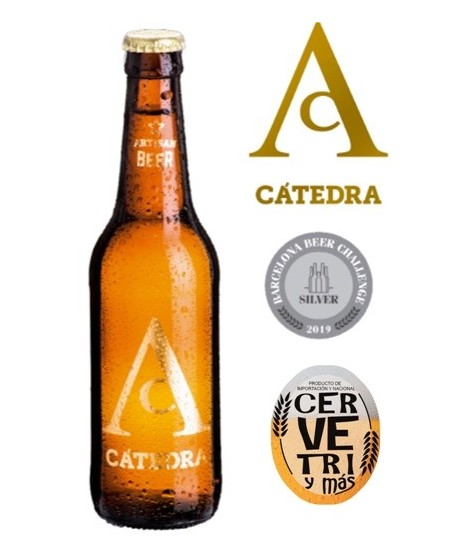 Cerveza Murcia Cátedra 33cl