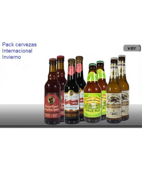 cervezas pack invierno