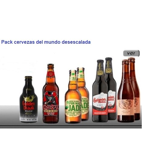 Pack cervezas...