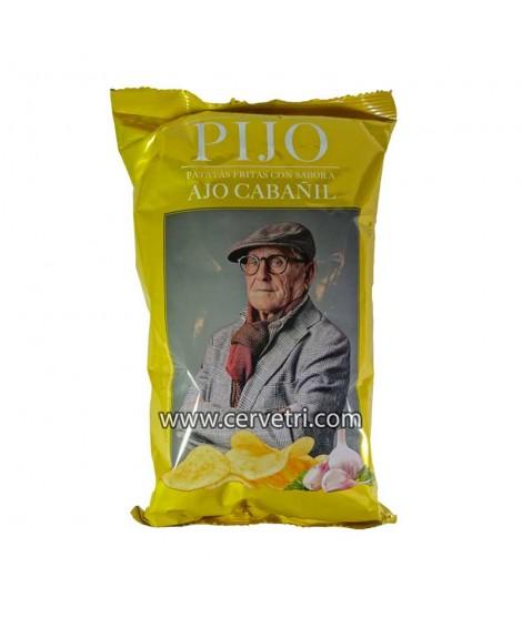 Patatas Pijo al ajo cabañil...