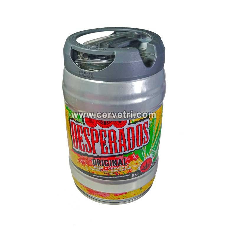 Barril desperados 5 litros