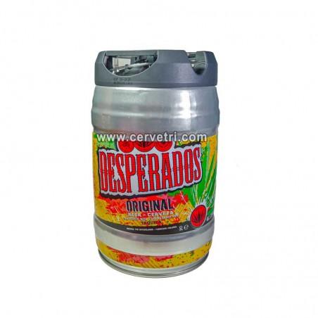 cerveza desperados 5 L.