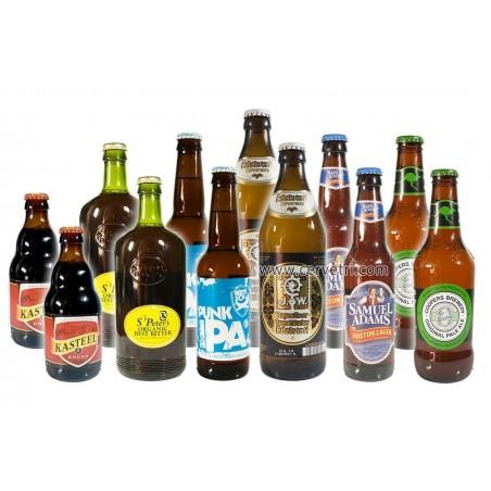 Pack de 12 botellas de cerveza Internacional