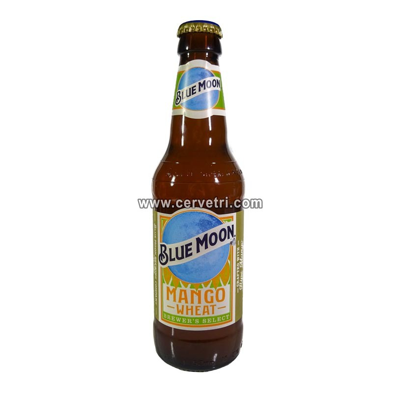 blue moon mango cerveza exótica