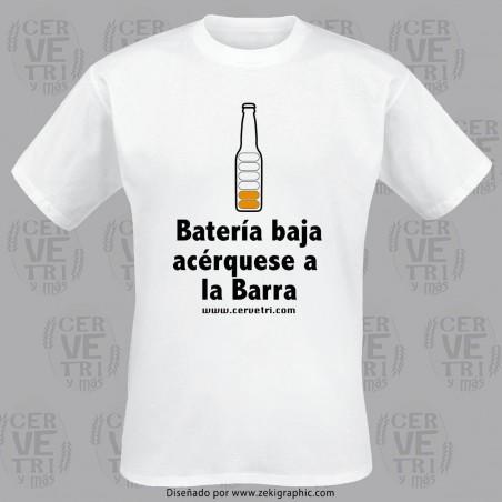 Camiseta Batería Baja