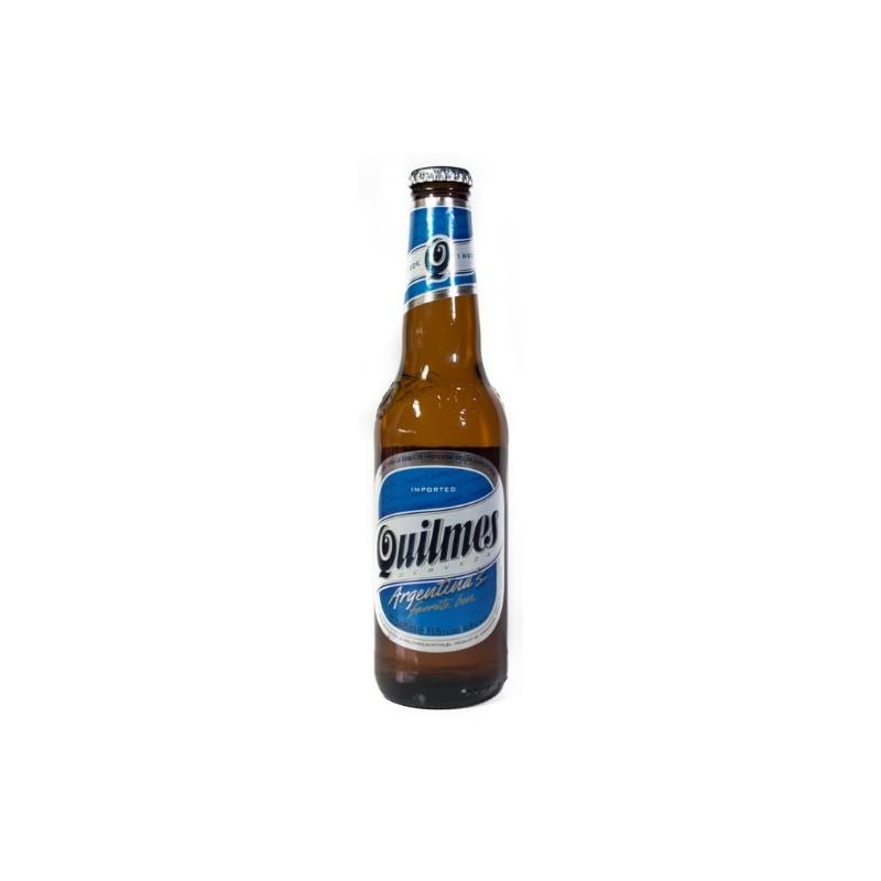 cerveza argentina Quilmes.