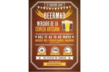 5ª Edición BEERMAD 2019 Feria Cerveza Artesana Madrid
