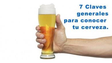 Las 7 Claves generales para conocer tu cerveza.
