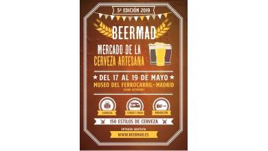 V Edición BEERMAD 2019 Feria Cerveza Artesana Madrid