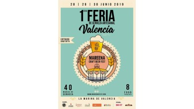 I Feria de la Cerveza Artesana Mareena. Valencia