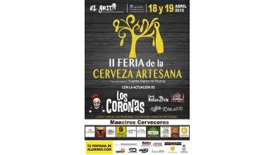II Feria de la Cerveza Artesana. Fuente Álamo. Murcia.  18 - 19 Abril 2015